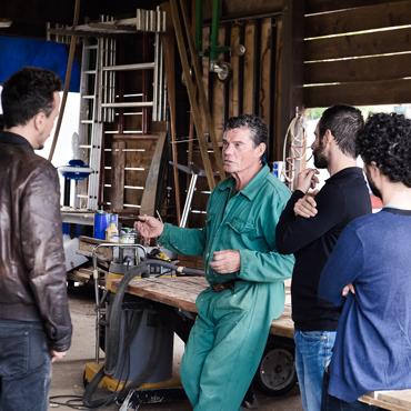 La proficua collaborazione tra Cantiere Daniele Manin ed il collettivo artistico Gli Impresari